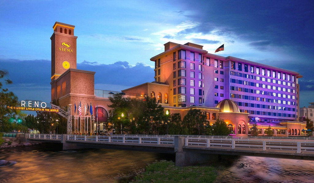 Siena Hotel Spa & Casino in Reno, NV near the site of Tesla's Gigafactory. Source: Siena Hotel & Casino