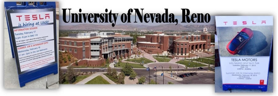 Tesla Recruiting from University of Nevada