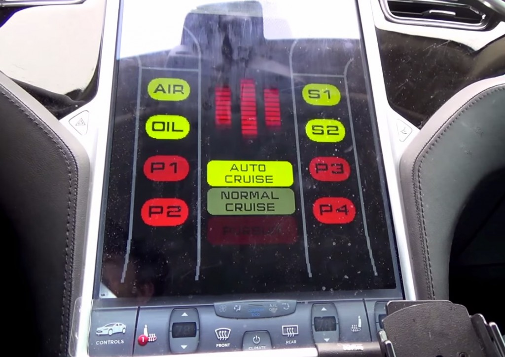 Tesla Model S Knight Rider Dash