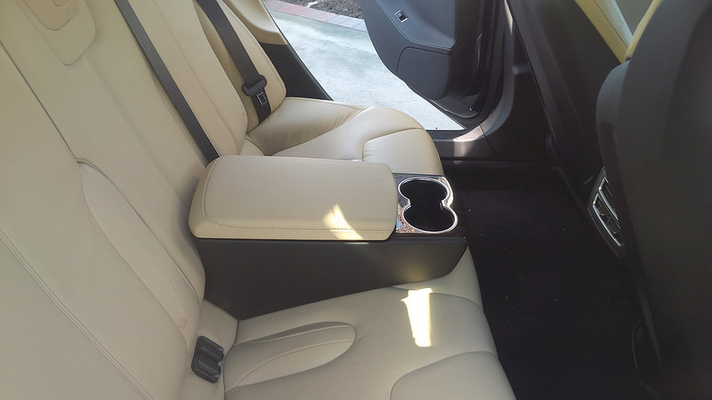 Official Tesla Motors Premium Rear Console