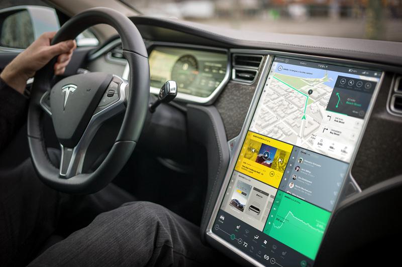 Tesla Model S UI Design Concept by Bureau Oberhaeuser (Image source: Bureau Oberhaeuser)