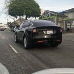 Tesla Model X sighting in Newark, CA