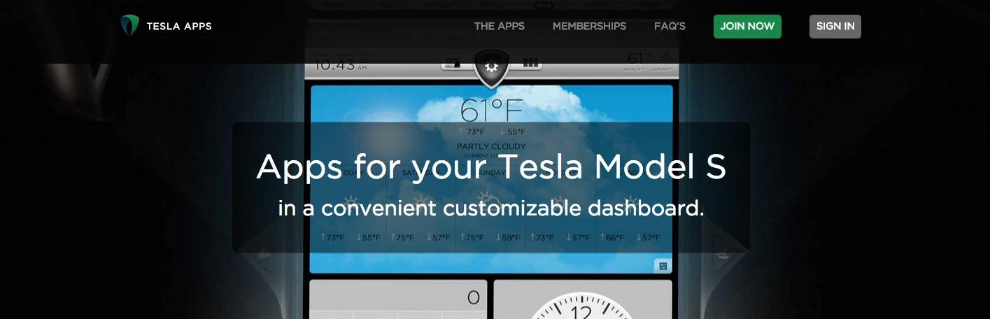 TeslaApps-Dashboard