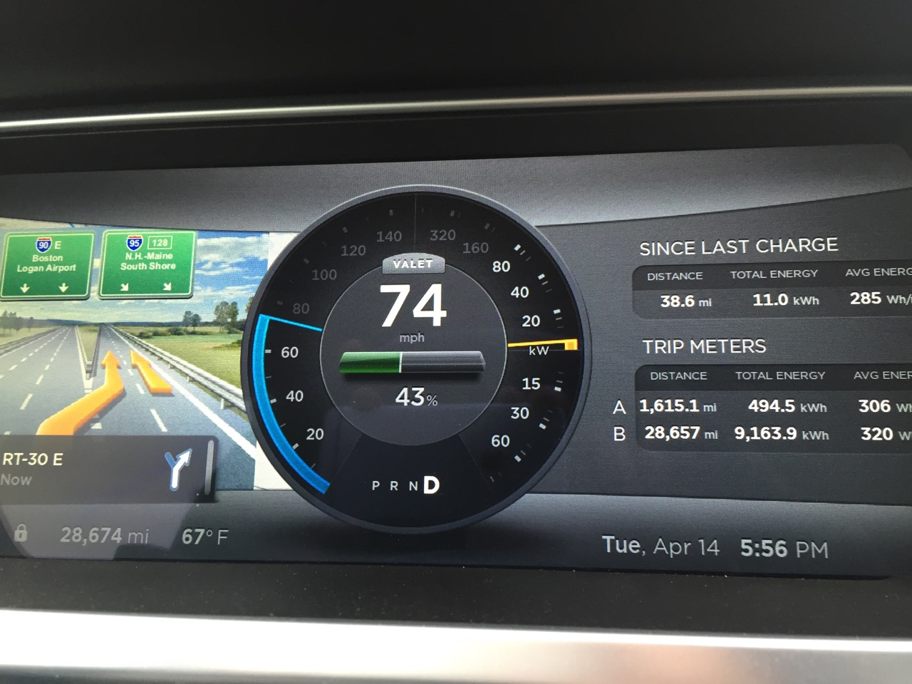 An in-depth look at Tesla's new Valet Mode for the Model S