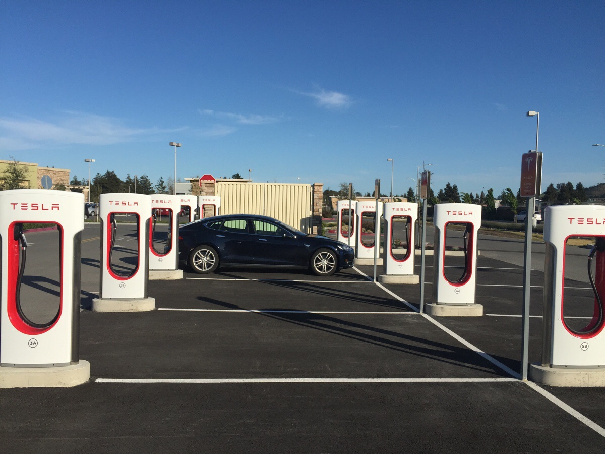 Petaluma Supercharger Station