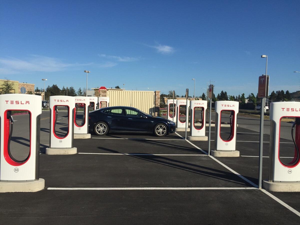 Petaluma Supercharger Station