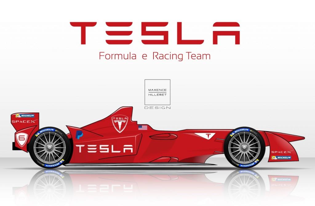 TESLA-Formula-e-Racing