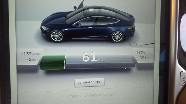 Tesla-Model-S-CHAdeMO-Charging