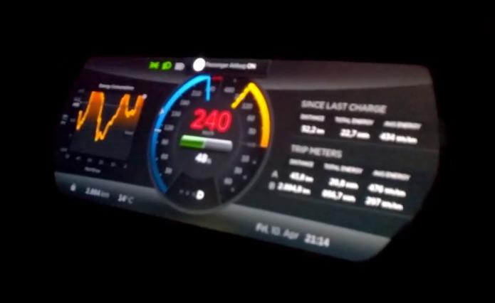 tesla p85d 155mph top speed run after firmware 6 2 update. Black Bedroom Furniture Sets. Home Design Ideas