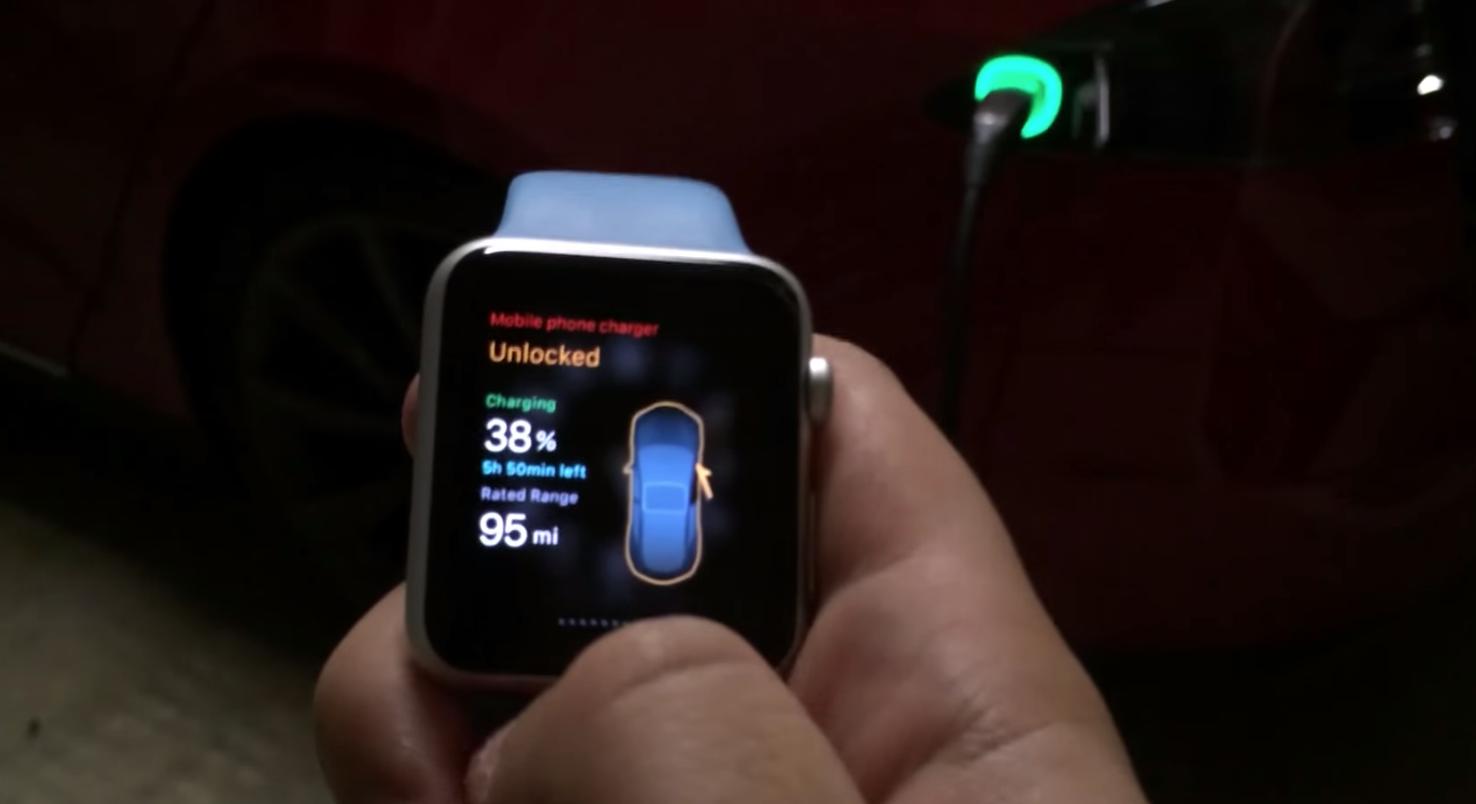 Apple-Watch-Tesla-App