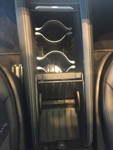 Tesla Model S Center Console Cupholders