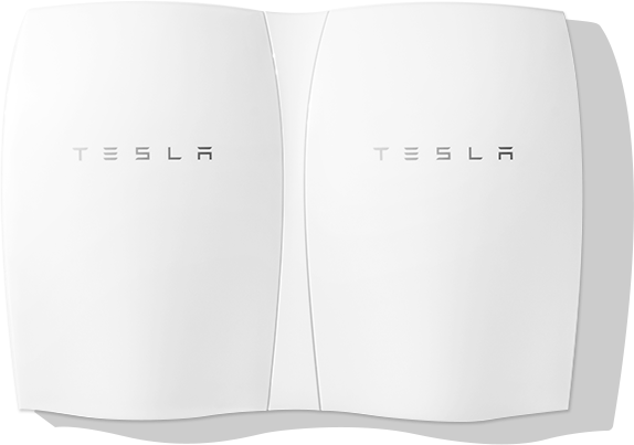 Tesla PowerWall units connected