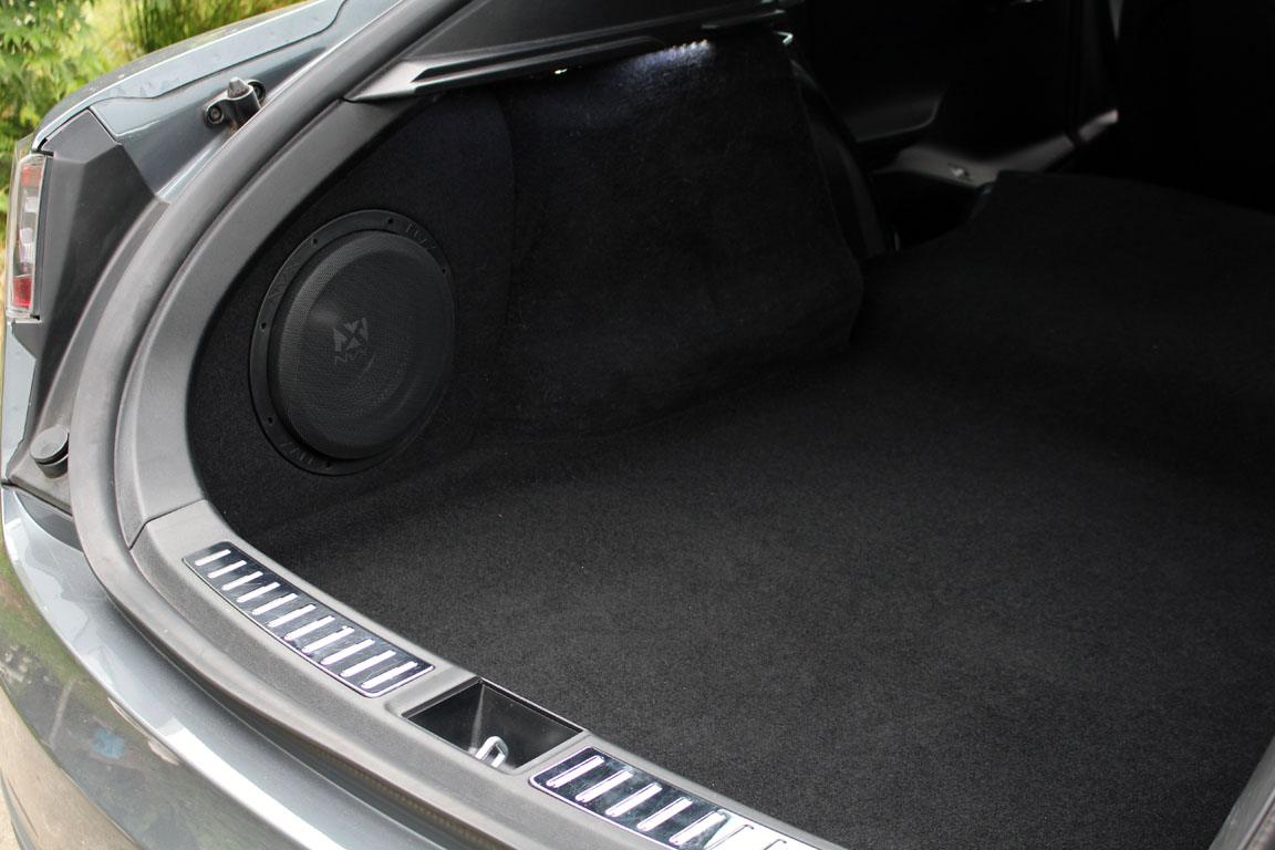 Tesla Model S Subwoofer enclosure by NVX
