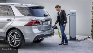 The GLE plug-in hybrid could be in U.S. dealerships by August. (Courtesy of MBUSA)