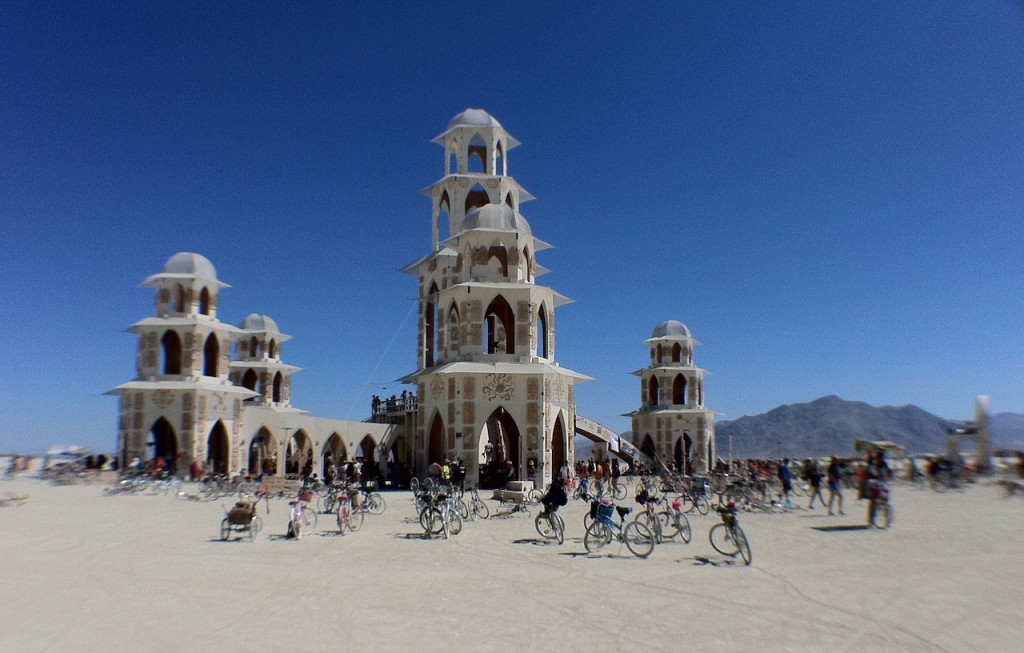 Burning Man [Source: Victor Grigas via Wikipedia]