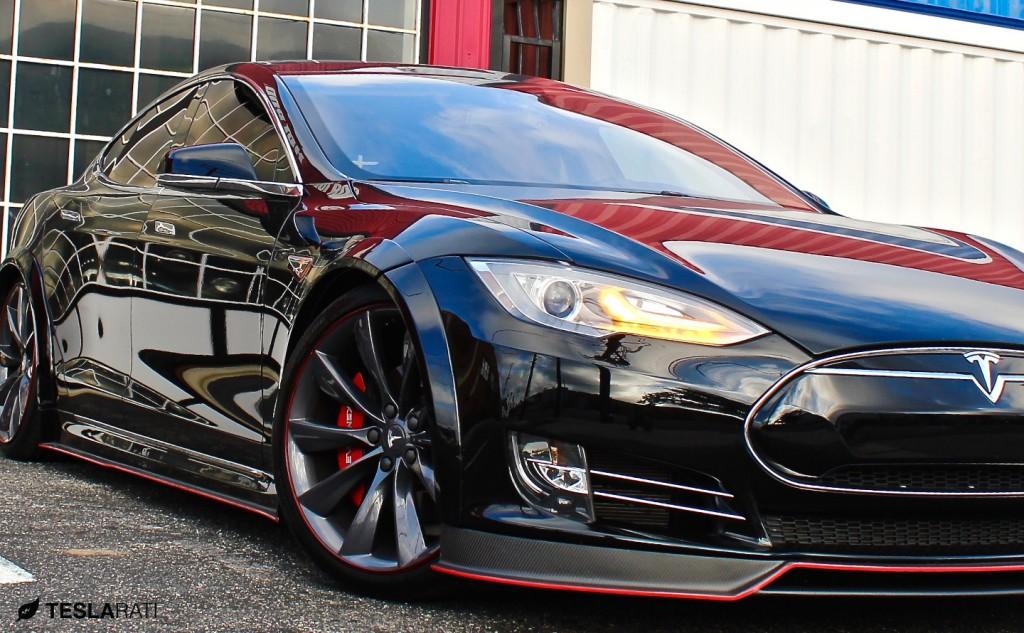 R-Zentric-Tesla-Model-S-Carbon-Fiber-Splitter-Teslarati