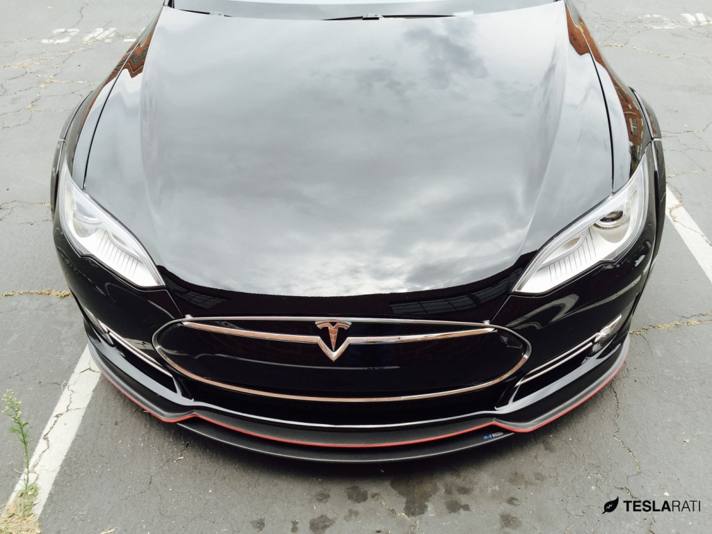 R-Zentric-Tesla-Model-S-Hood-Carbon-Fiber-Splitter
