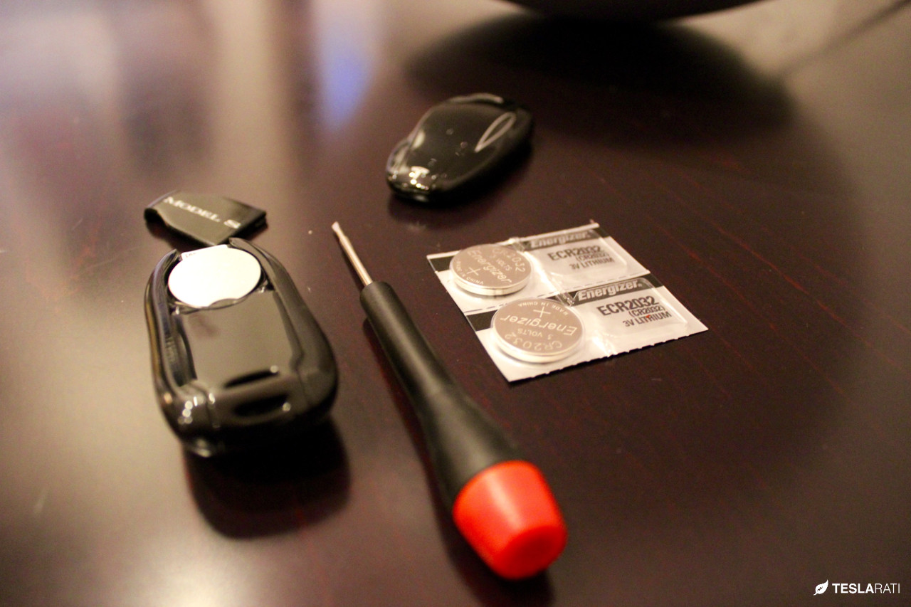 How to Replace the Tesla Key Fob Battery