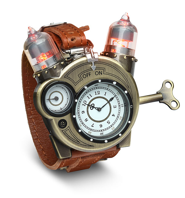 Tesla watch from ThinkGeek pays tribute to Nikola Tesla