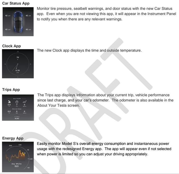 Tesla v7.0 Software Update