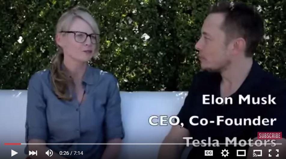 Elon Musk interview on GigaOM TV