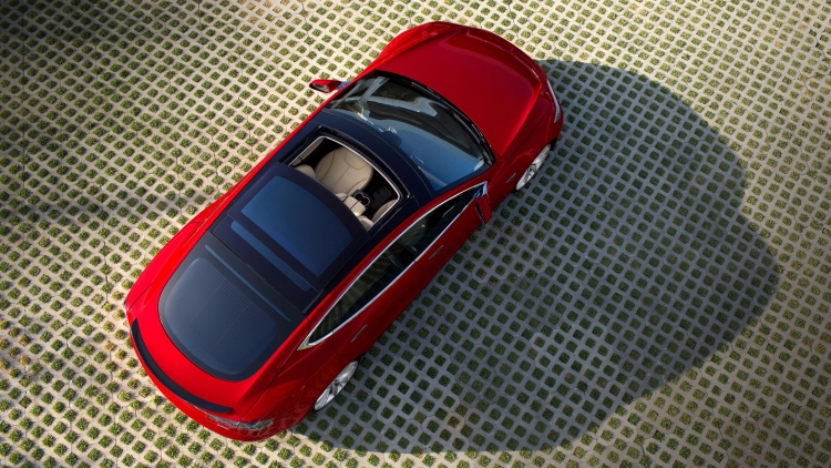 Model S Via Tesla