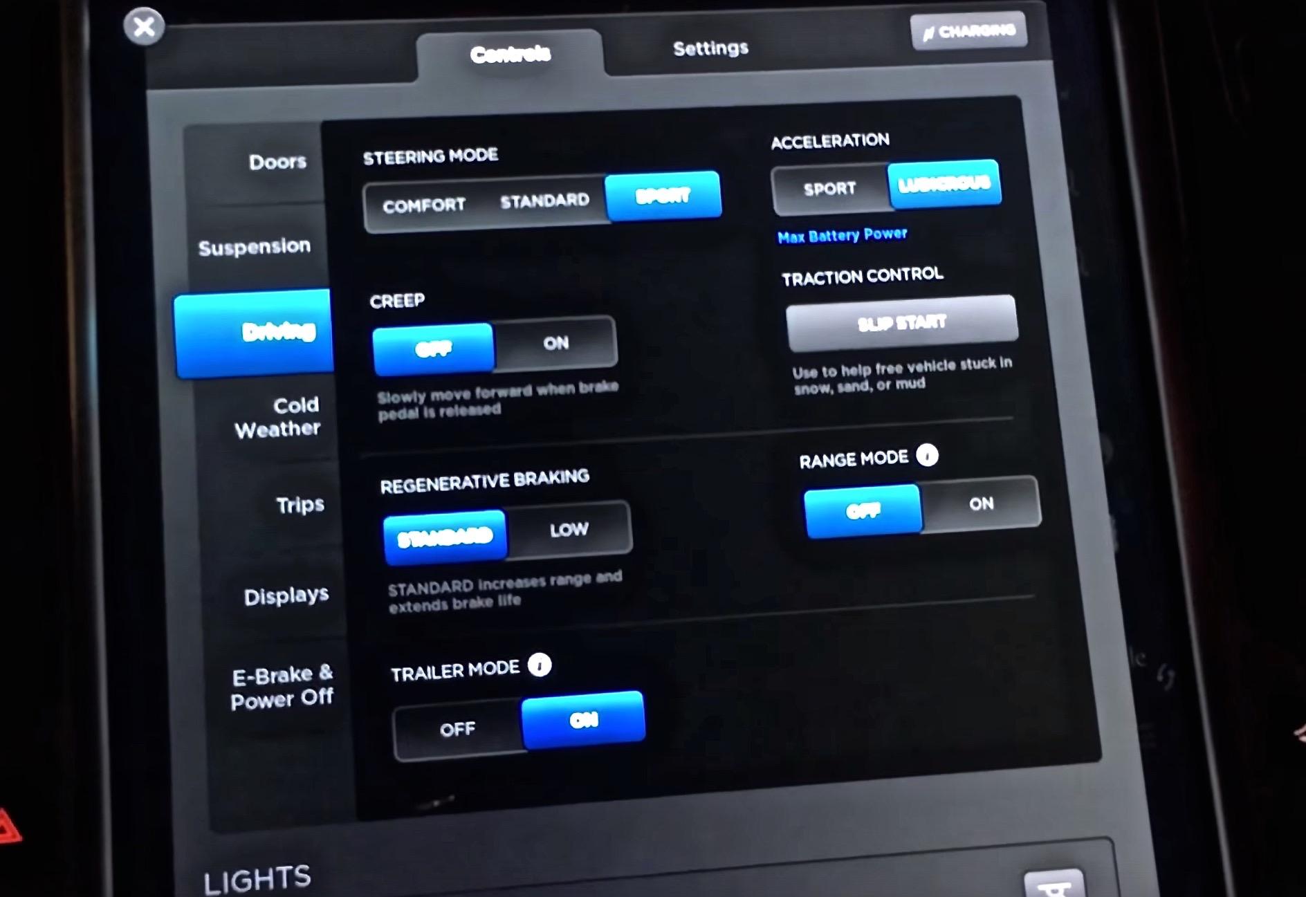 Tesla Model X Firmware 7 0 Features Exposed