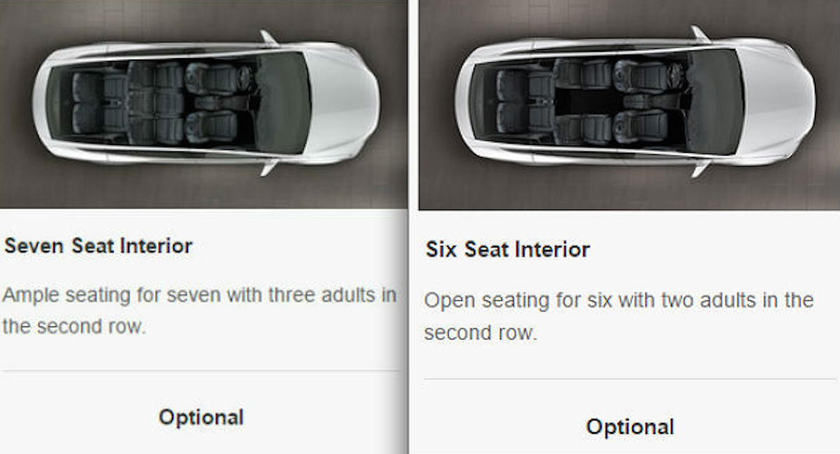 Model X Seats 1