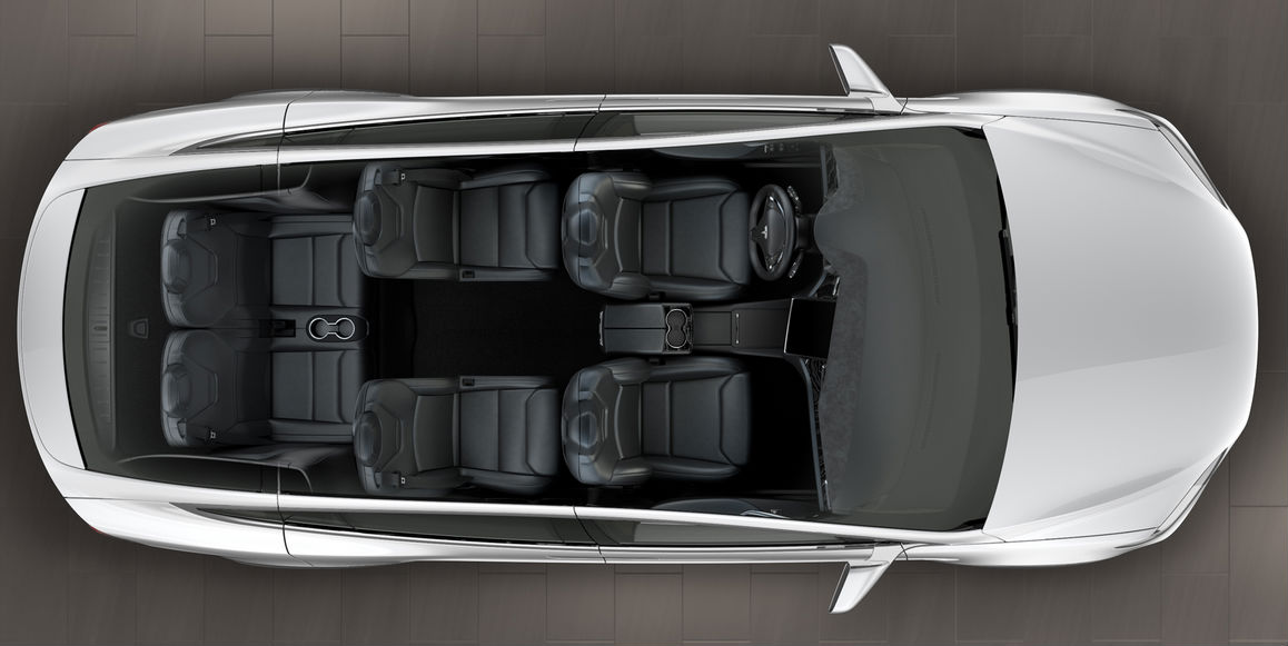 Tesla model s seating layout