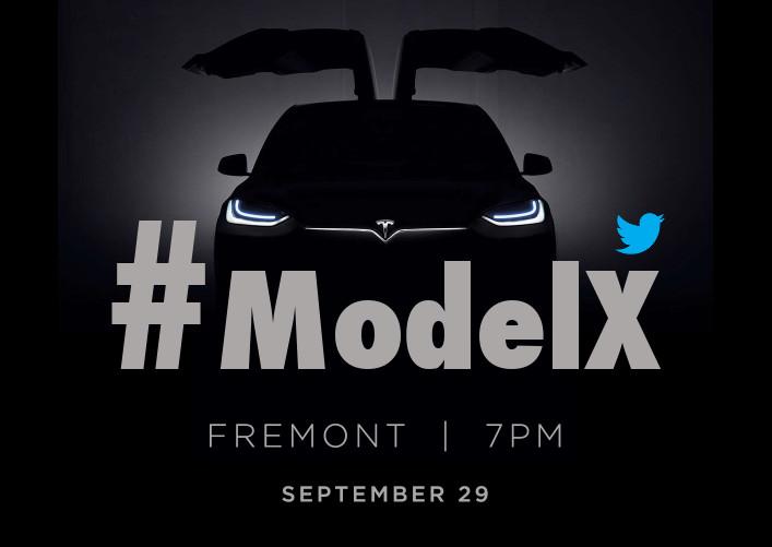 Hashtag #ModelX Tesla Launch Event