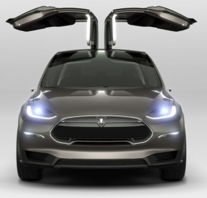 Tesla Model X Falcon Doors