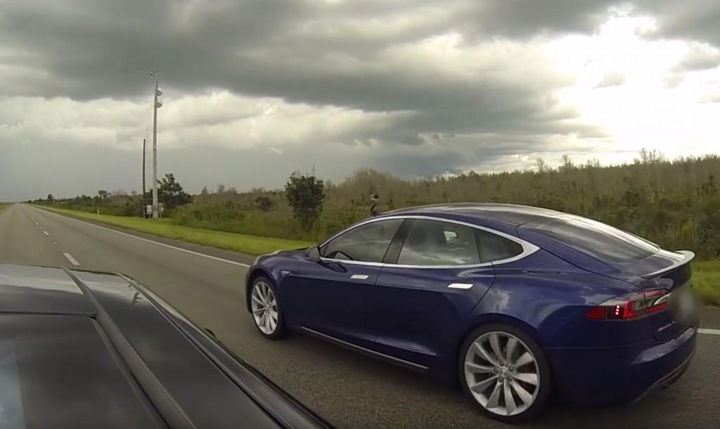 Tesla P90D Ludicrous vs Insane Mode