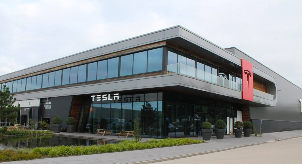 Tesla Assembly Plant in Tilburg, Denmark
