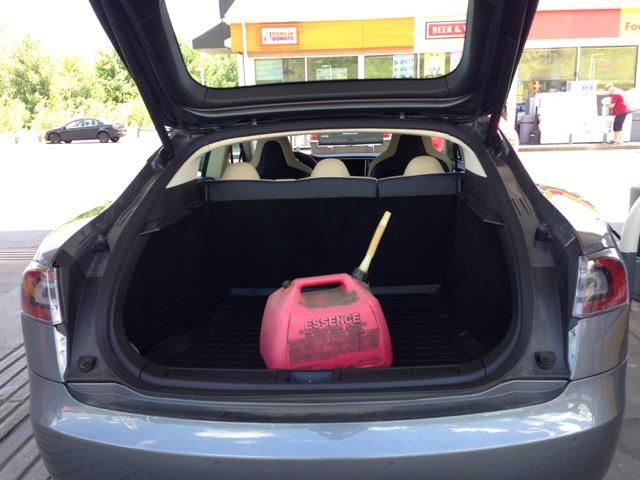 Gas in EV