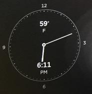 7.0 Clock Widget