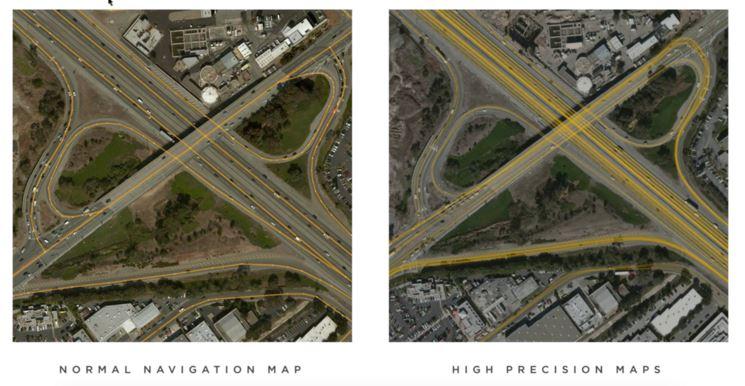 Tesla using cloud technology to create digital maps