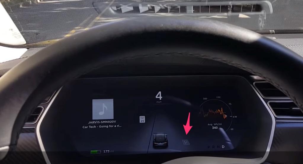 Aligning Model S for Autopark