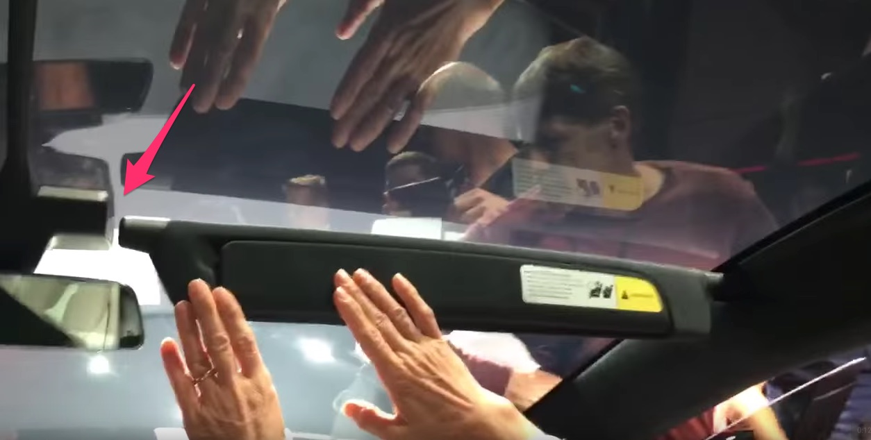 How To Use The Model X Sun Visor And Vanity Mirror