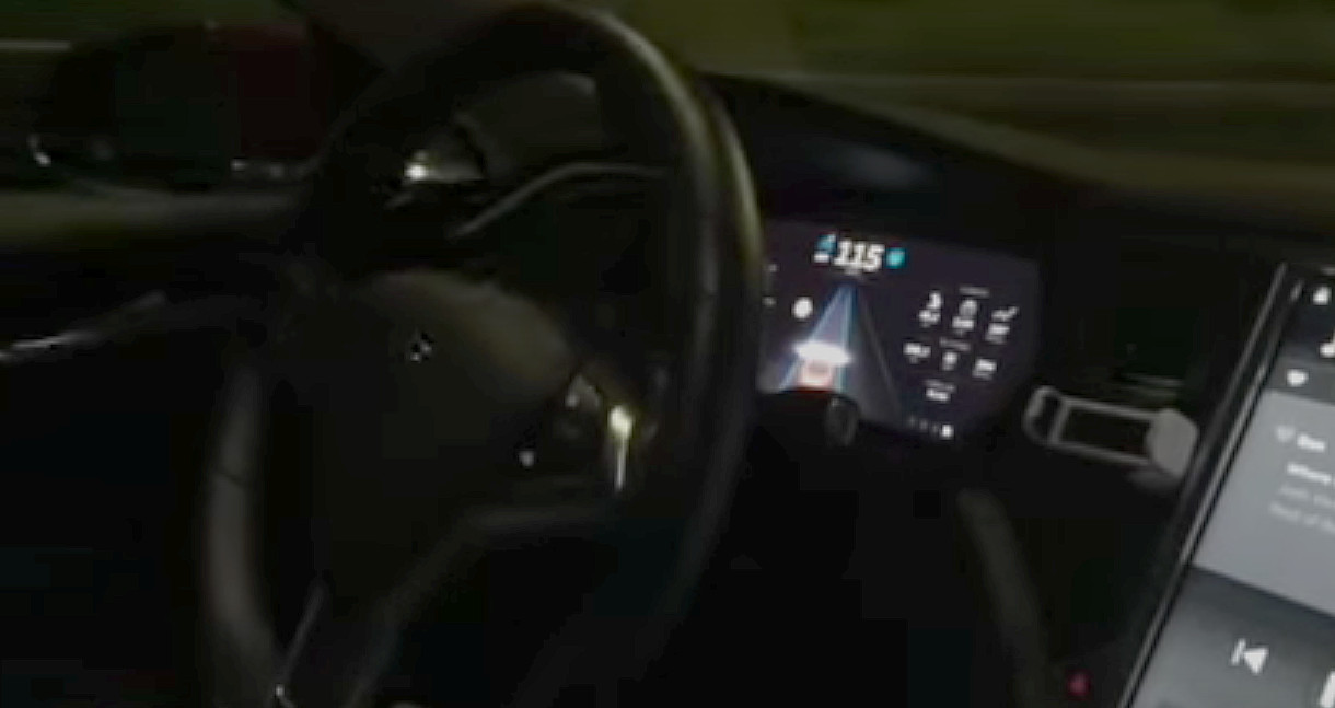 Tesla Version 7 with Auto-Steering