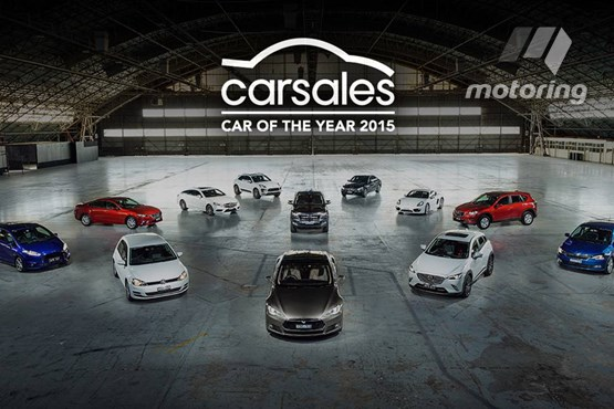 Model S wins Australian COTY award