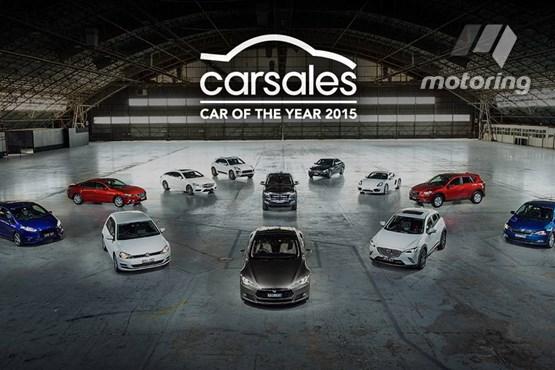 Model S wins Australian COTY award