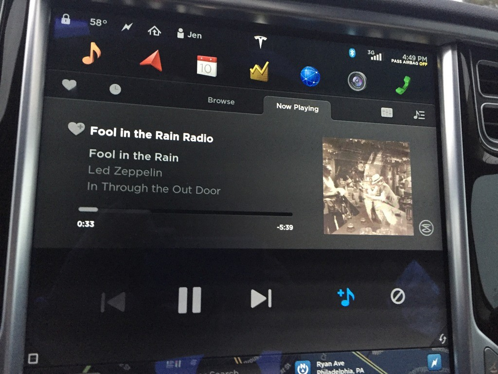 Fool In The Rain - Tesla Slacker Internet Radio