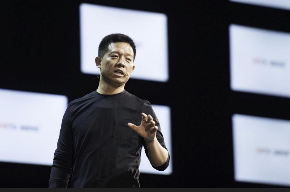 Chinese billionaire Jia Yueting, Source: Imaginechina