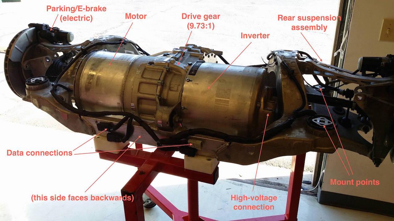 Tesla Powerwall 2 >> Tesla-Model-S-Drivetrain-Unit - TESLARATI