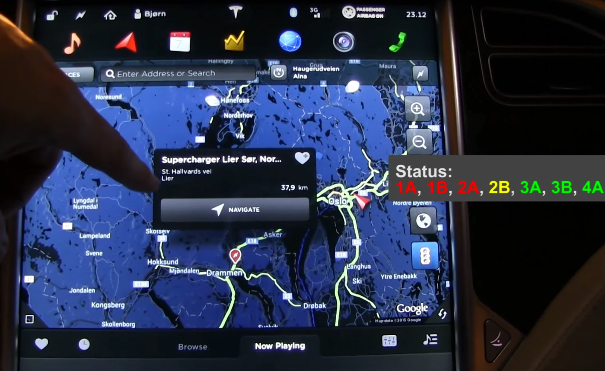 Tesla-Touchscreen-Navigation-Supercharger
