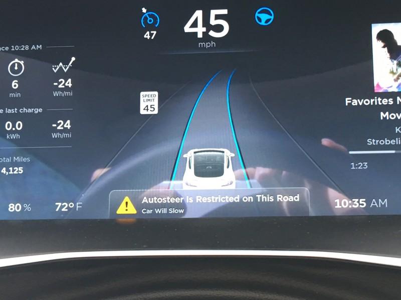 Autopilot restrictions