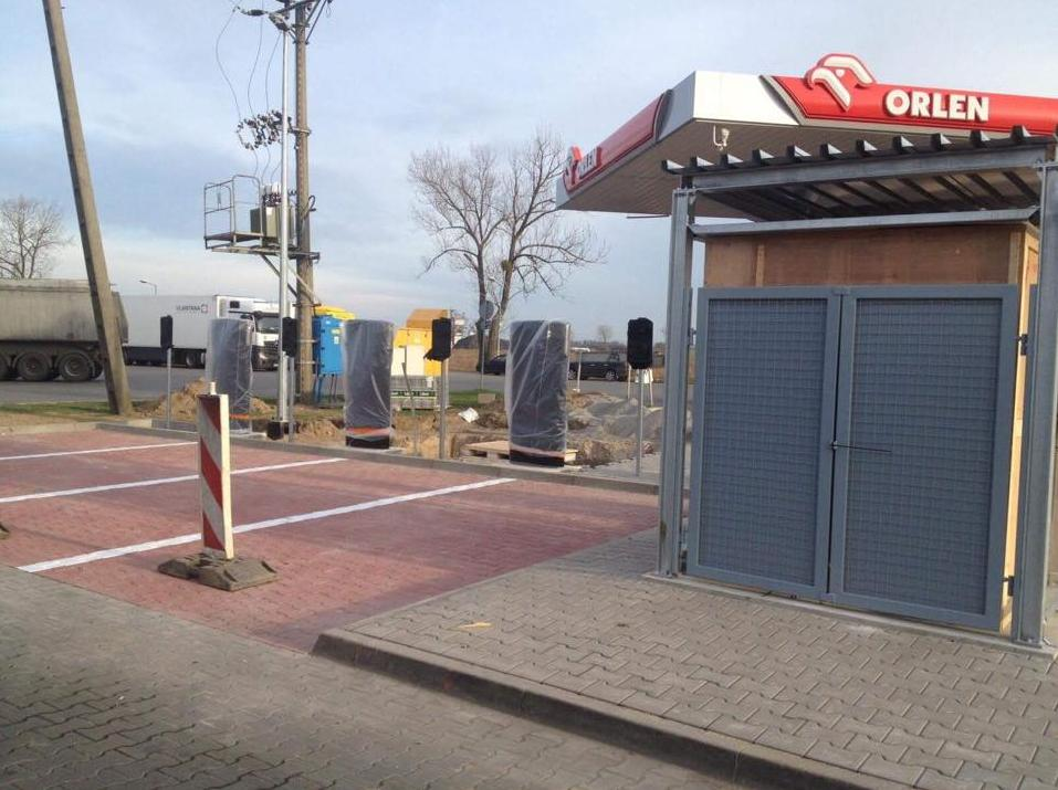 First SuperCharger in Poland