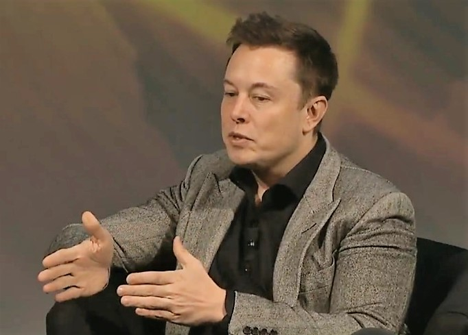 Elon Musk at AGU meeting