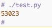 API Run Example