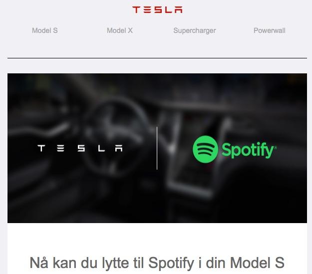 Tesla-Spotify-Premium